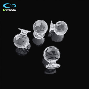 factory supply acrylic bubble ball drawer knob handles door pull handles