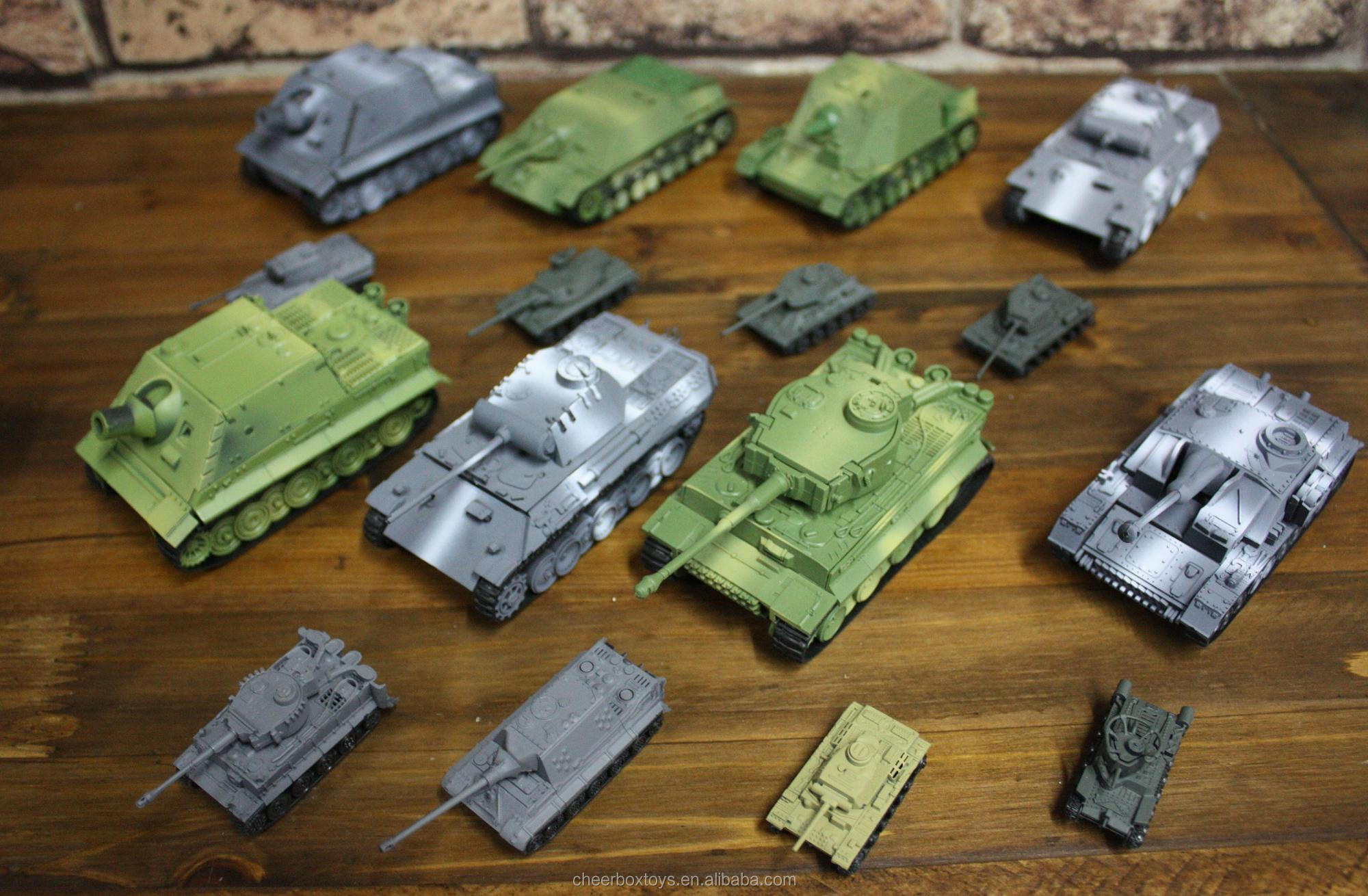 World War II Germany Brummbar Tank Model Plastic Assemble Kit 1:72 Military  Model, View Military model building, Cheer Box Product Details from