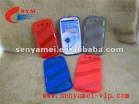 2012 Factory price Silicone TPU case for Samsung i9300 s3
