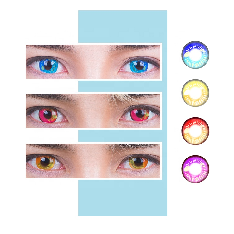 Wholesale Halloween Contact Lenses Cosplay contact lenses Crazy Contact Lenses фото