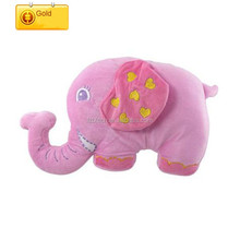 Personalized colourful elephant pillow plush elephant stuffed animal toy lovely plush elephant
