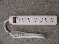 Best Price Fast Charging US Power Strip 6 Outlet Power Strip Extension Cord with Surge Protector