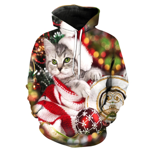 Hot Sale Unisex Christmas Man Hoody Cashmere Sweater 3D Star Psychedelic Swirl Digital Printing Oversized Camo Supreme Hoodie