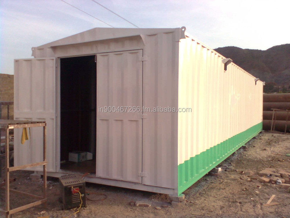 shipping container porta cabin site office store room bunk house prefab house old cargo container security office etc.