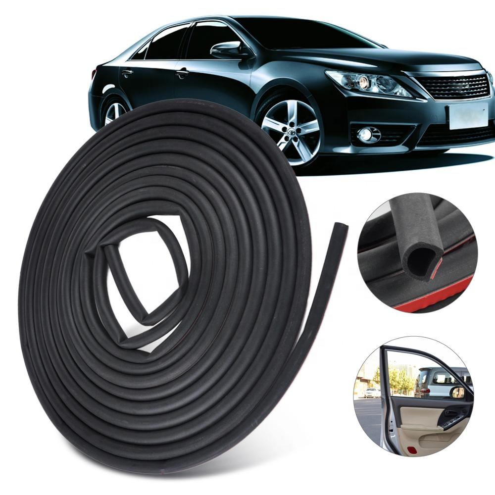OEM custom adhesive car roof <strong>rubber</strong> strip seal for Car Window Door Engine Cover Seal Edge Trim Noise