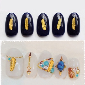 NO Certification and Metal Material nail art decoration
