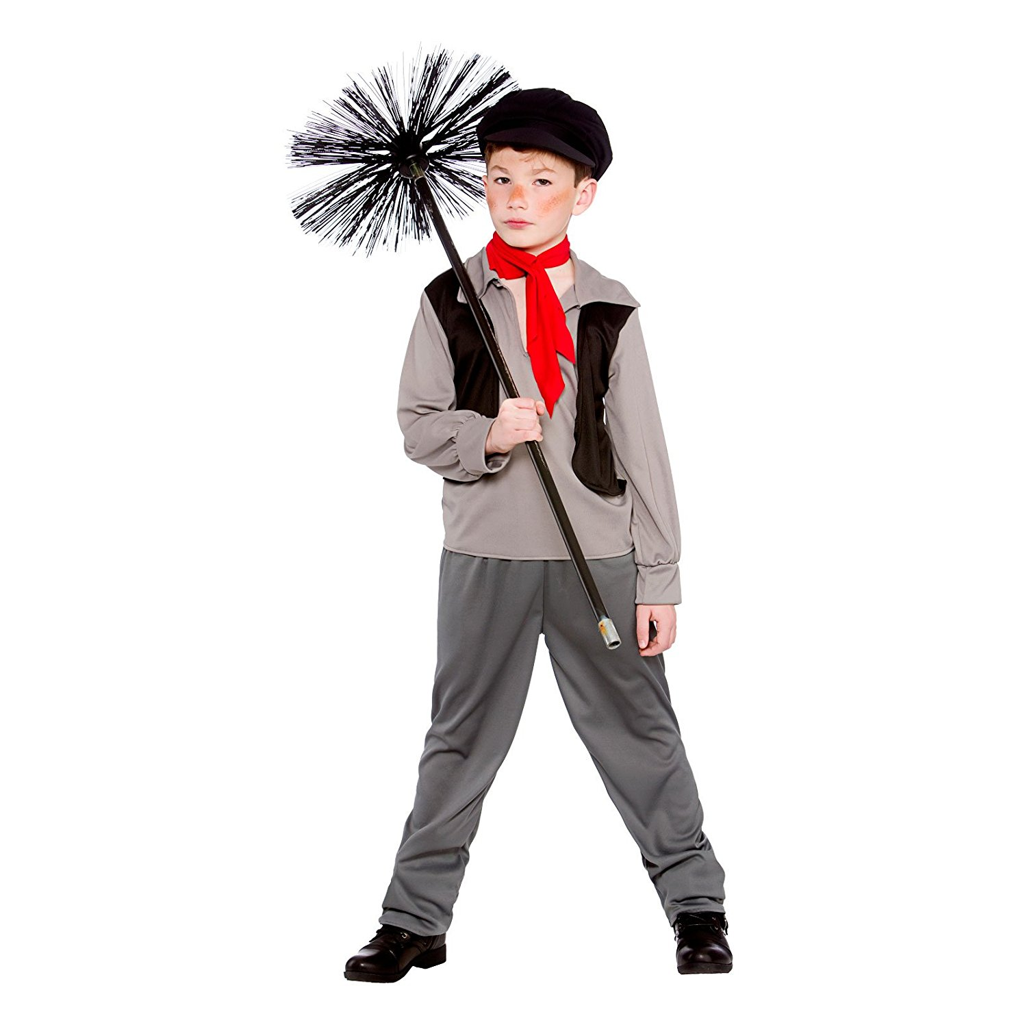Buy Mens Bert Chimney Sweep Fancy Dress Costume Adults ...