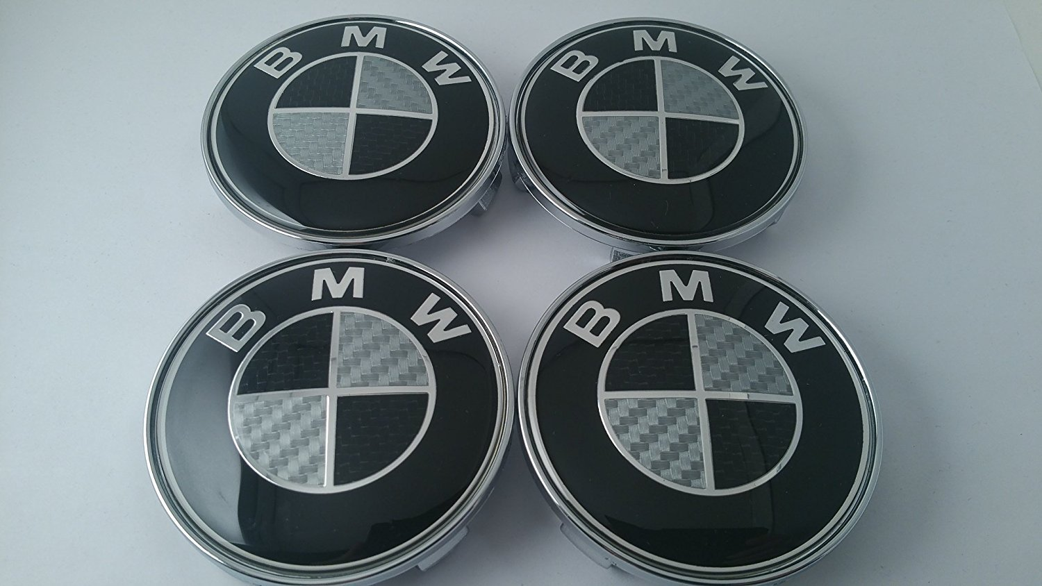Buy 4x 68mm Carbon Fiber Wheel Center Caps For Bmw Logo Red Silver In Cheap Price On Alibaba Com