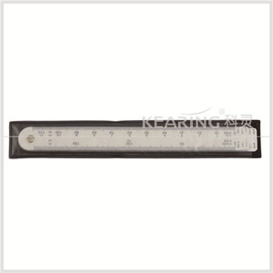Kearing Brand non toxic plastic 5pcs set combination scale ruler in #8500-5 for engineering