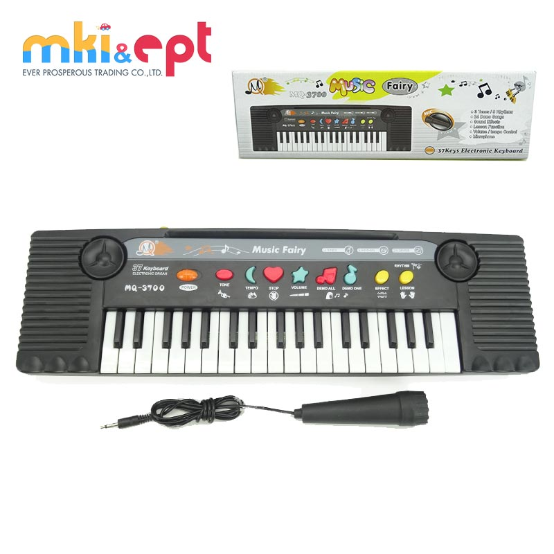 Hot selling 37 keys kids piano keyboard musical toys for sale