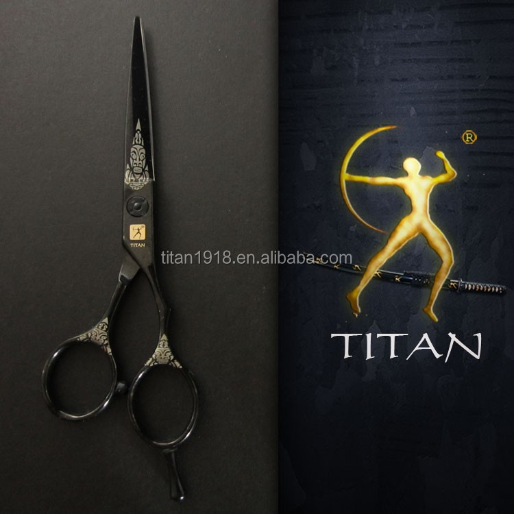 Titan scissors super cut barber scissors colourful hairdressing scissors training head for hairdressers
