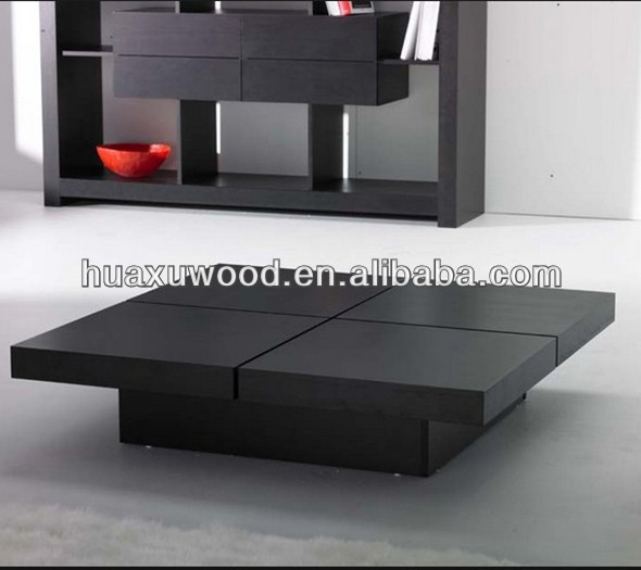 Hx140123 Mz477 Anese Style Sliding Top Coffee Table Four Seat Storage Product On Alibaba