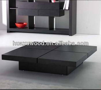 Hx140123 Mz477 Japanese Style Sliding Top Coffee Table
