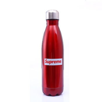 stainless steel water bottle carrier sports water bottle