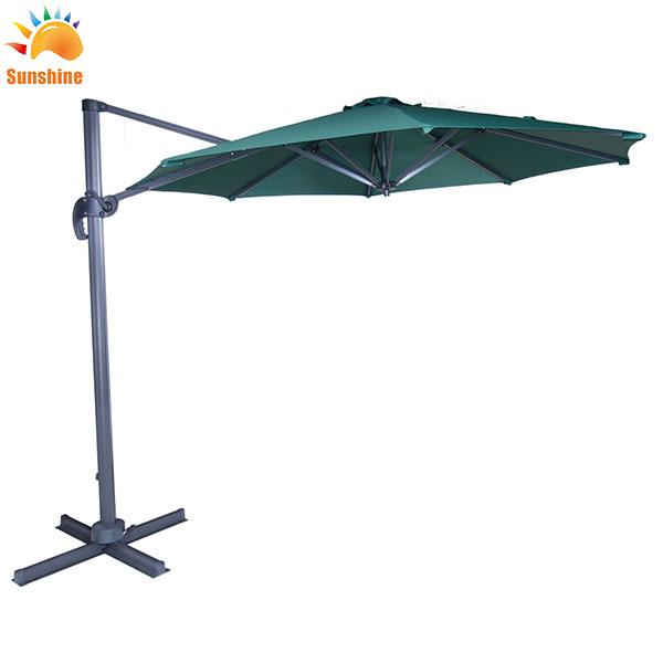 3*3 متر ألومنيوم مزْدوج أعلى مربع في الهواء الطلق الترفيه روما مظلة روما حديقة المطر مظلة الشاطئ