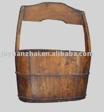 Antique furniture-Oval Bucket