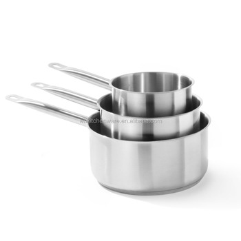 Induction 1.0-12Litre NSF listed Stainless Steel Saucepan for restaurant