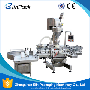 New Promotion High-Efficiency Milk Automatic Bottle Filling Machine Powder