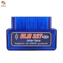 Mini <span class=keywords><strong>ELM327</strong></span> Bluetooth V2.1/V1.5 OBD2 Auto <span class=keywords><strong>Strumento</strong></span> Diagnostico ELM 327 Bluetooth Per Android/Symbian Per OBDII Protocollo