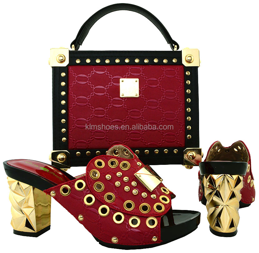 And Shoe Bag Wedding Summer High Italy Shoe Women And Italian BCH Matching Set 21 Heels Sandal Bag African Set Set Shoe And Bag qnO7nUt
