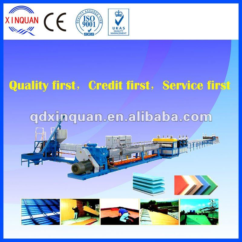 High-quality XPS foam plate making machine