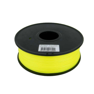 Manufacturers High Quality 1.75mm Yellow 3D Printer plastic abs filament