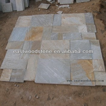 Yellow Slate Flooring Tilegolden Quartz Buy Golden Quartzyellow