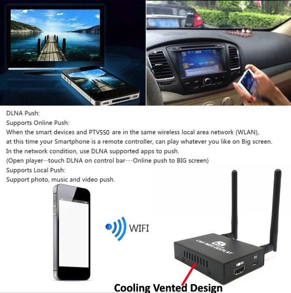 5G Car Mirror link support Miracast IOS Youtube Airplay for Car Audio Video  interface, View Miracast Dongle, Xyuns OEM Product Details from Shenzhen