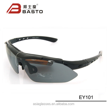 0dd53ec83a8b7 5 exchangable different color lens sports sunglasses polarized for cycling
