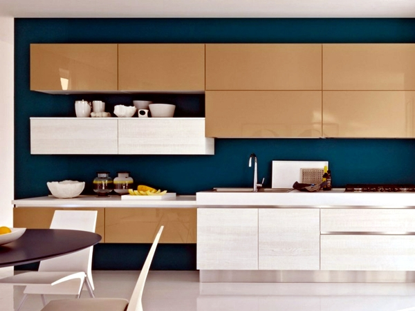 Modern kitchen cabinet without handle Gandan Simplicity Purism Of ...