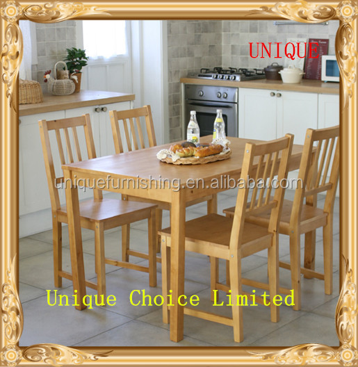 Natural Color Solid Pine Wood Dining Table And Chair Set   Buy Dining Table,Dining  Table And Chair,Wood Dining Table Sets Product On Alibaba.com Part 44