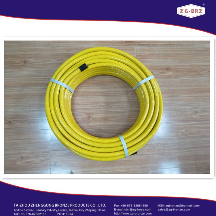 CSST gas hose with fittings EN15266:2007