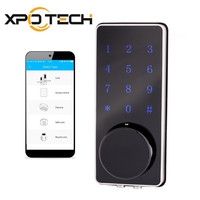 Office Home apartment cylinder electronic smart APP bluetooth smartphone door lock