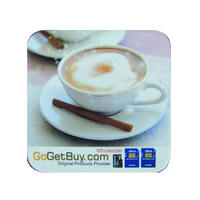 Eco-frindly SGS Promotional cork cup pad, cork cup coaster