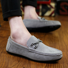 The new spring 2015 driving shoes for Men Loafer,fashion design casual flat shoes man Slip On moccasin