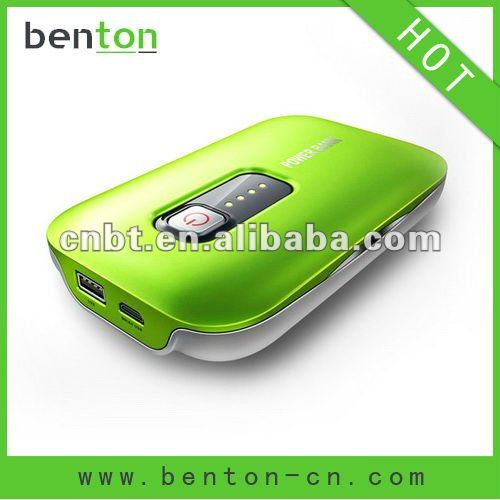 High quality solar power battery bank for mobile phone
