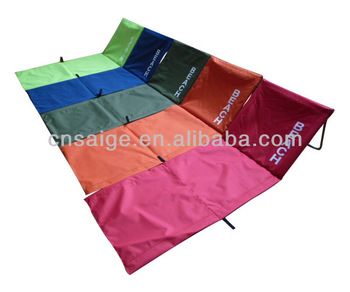 Beach Mats Foldable Mat With Cooler Back Side Portable Cushion