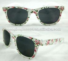 2012 trendy kids sunglasses with flower and good quality