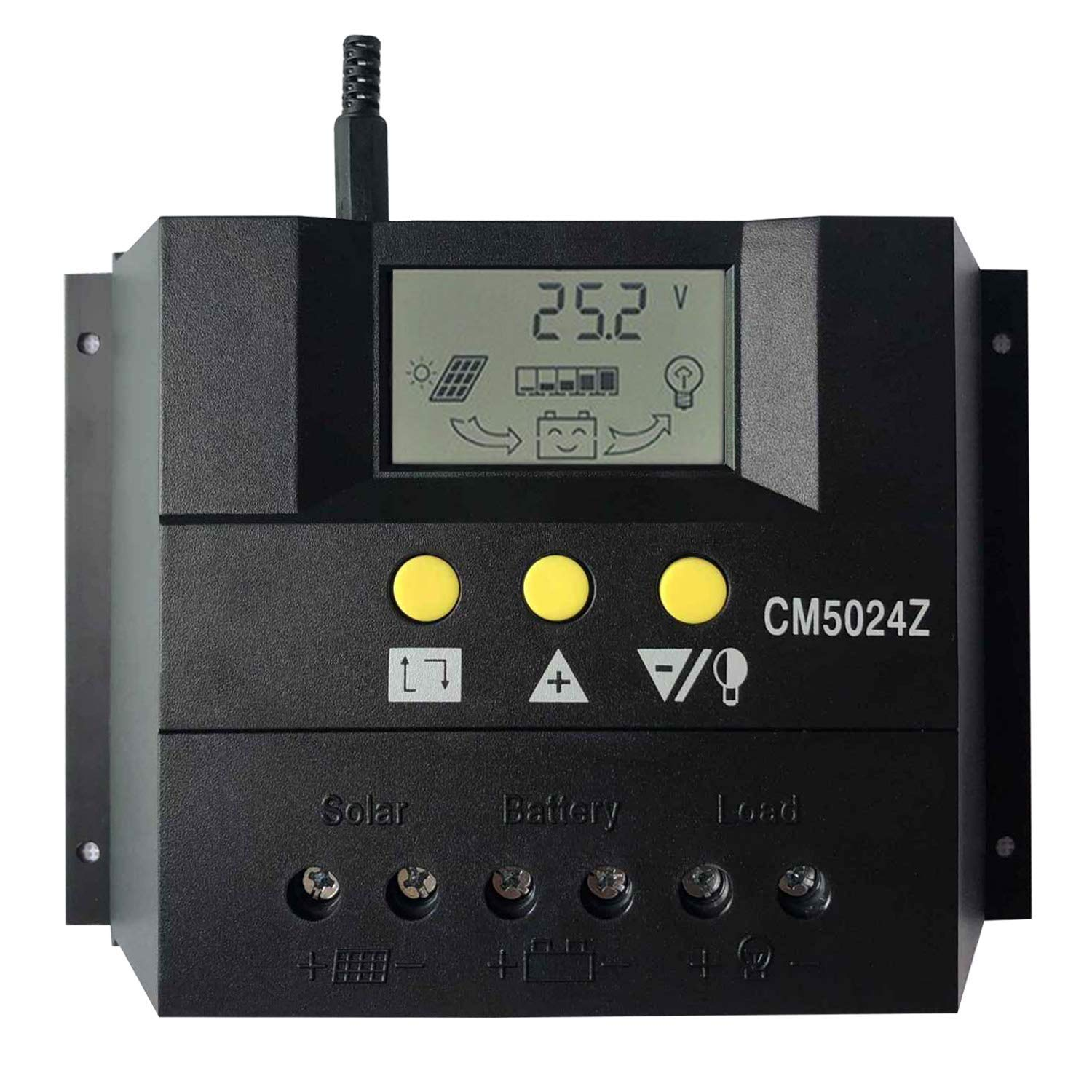 Cheap Solar Panel Circuit Diagram Battery 12v Find 24v Charger Get Quotations Krxny 50a Pwm Charge Controller Auto Regulator Charging Regulators Lcd