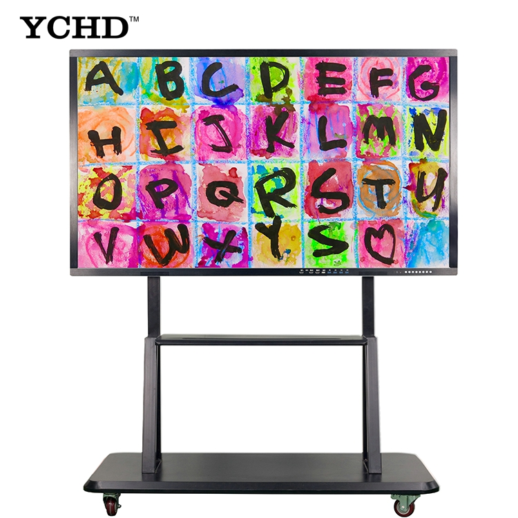 Cheap 32inch touch screen smart pc <strong>tv</strong> all in onewhiteboard with built in OPS i5 CORE