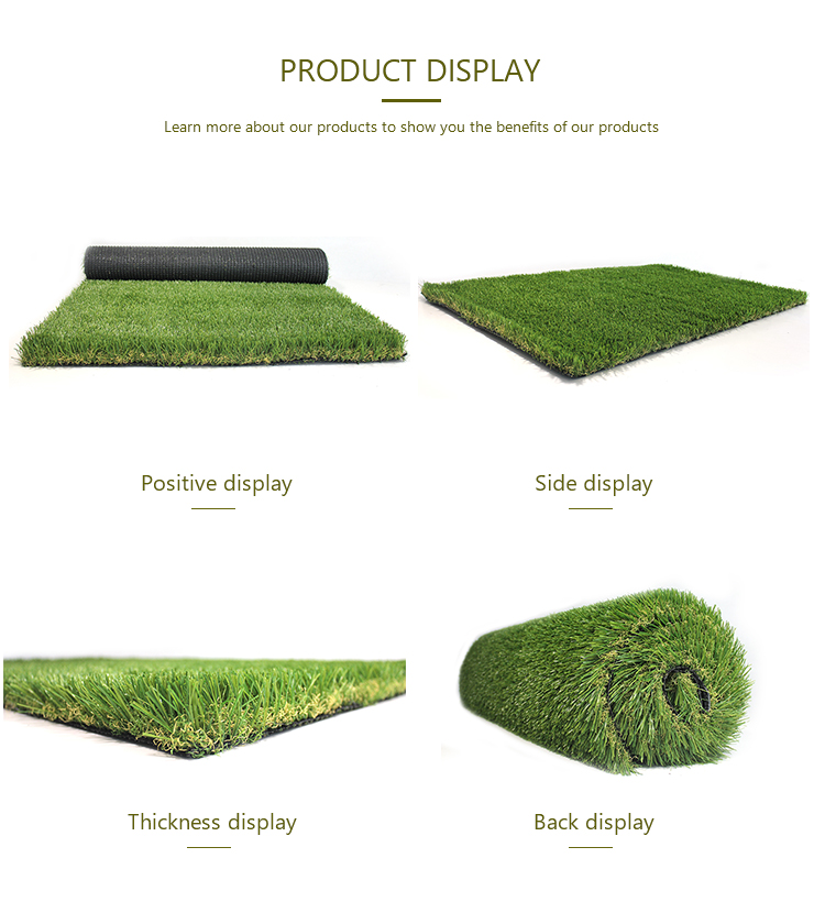 High quality garden landscape chinese artificial grass turf