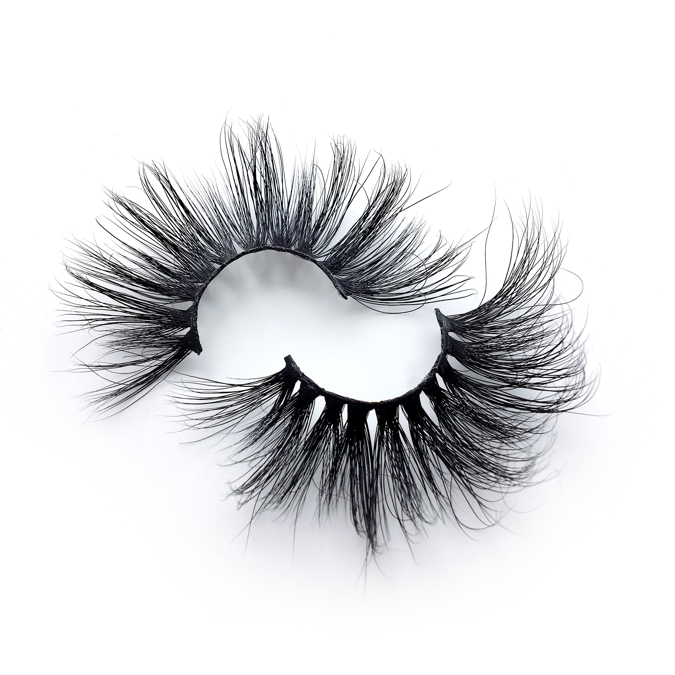 6aa8a0f232b 3) Wholesale customization eshinee mink lashes 27 mm 25mm eyelashes 3d With Custom  Packaging Your Own Logo Eyelash Box