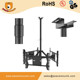Adjustable triple ceiling vesa tv mount tv tilted, supports 32-63 inch flat panel displays led lcd tv