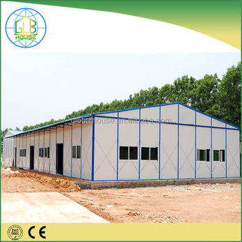 Light Steel Frame Quick Build Low Cost Prefabricated House For ...