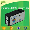 For canon printer parts PGI 1100XL compatible ink cartridges with pigment ink OEM company