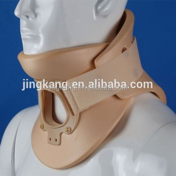 Medical supplier philadelphia adjustable neck support/neck traction collar JK-001Alibaba express