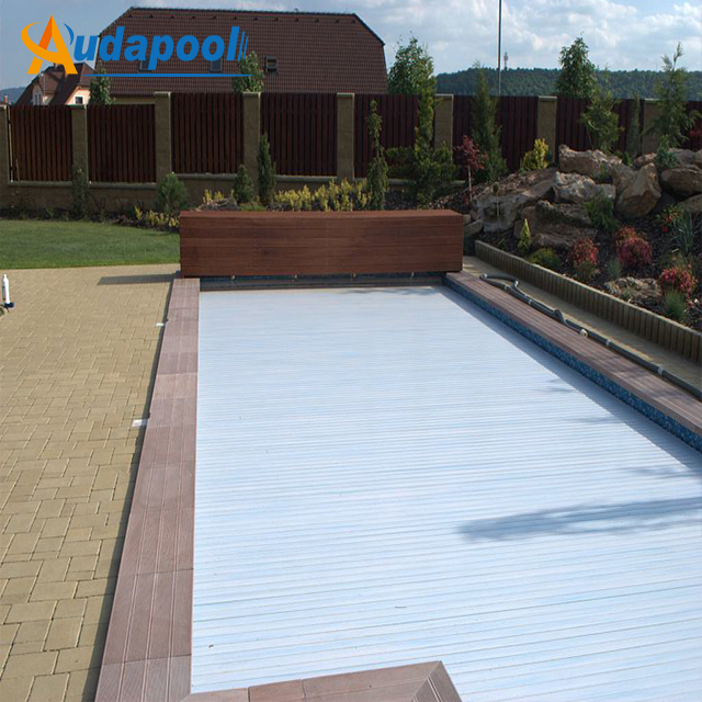 5mx10m Swimming Pool Cover Hard Plastic Pool Covers Top Quality Low Price  Best After-sales Service - Buy Hard Plastic Pool Covers,Electric Pool ...