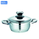Stainless Steel stockpot and cauldron best stainless steel cookware for cooking