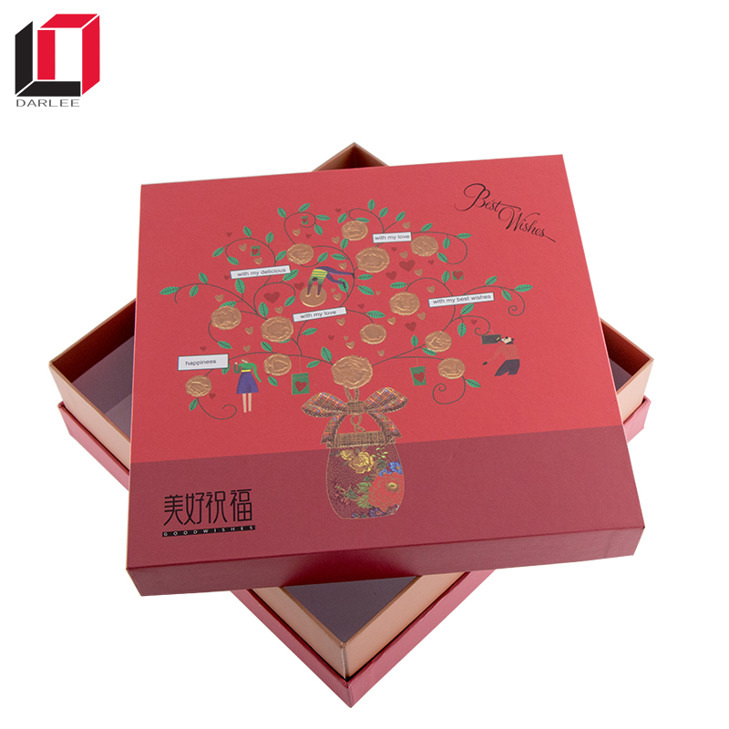 Cheap Wholesale High Quality coated paper cake packaging &food box
