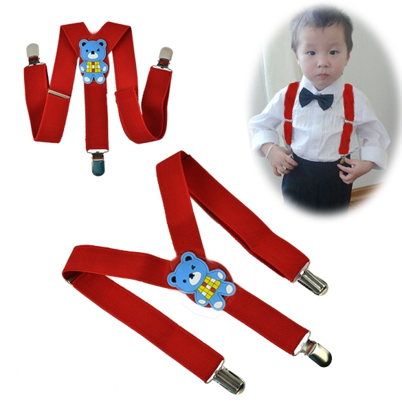 Crafted from comfortable elastic and featuring adjustable hardware, our suspenders for kids are made to keep up with children always on the go. The flexible elastic gives them the freedom of movement they need to run around, jump, reach and just be kids.